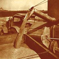 Bau einer Umschlagstelle für lose Getreideverladung