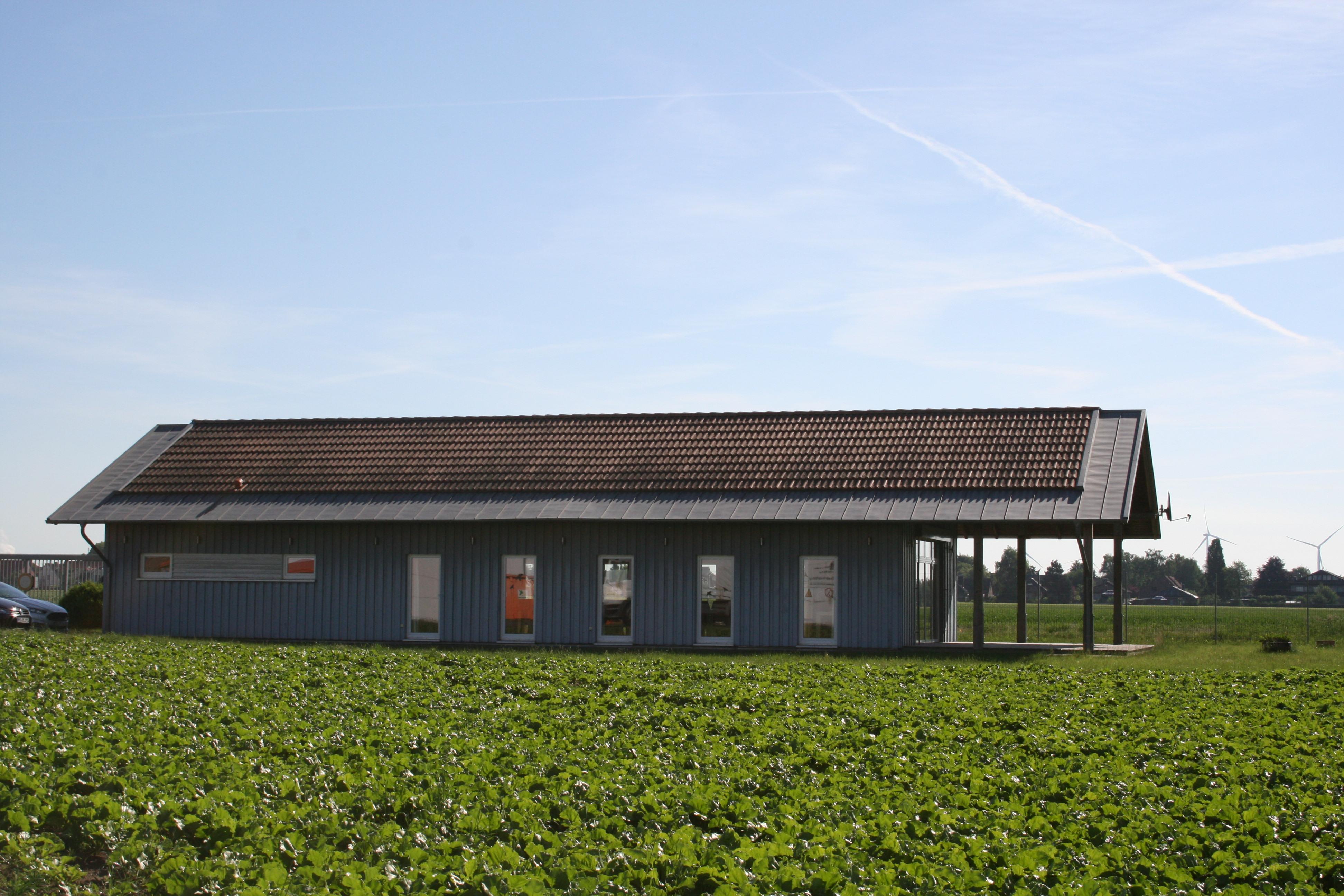 Bau des Schulungszentrums