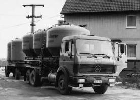 Erstes Kühlgerät und Nutzung von Tankwagen